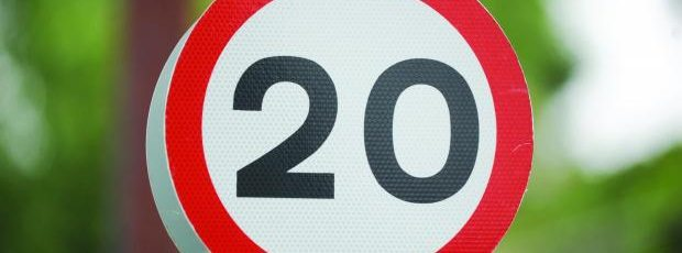 Road safety 20mph