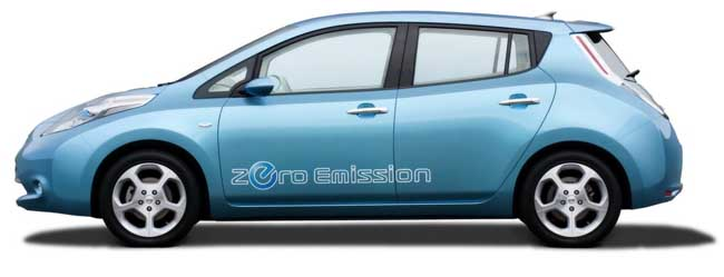 Cut price Nissan Leaf electric cars for 2013