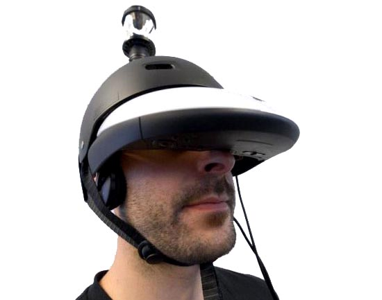 FlyVIZ 360 degree helmet