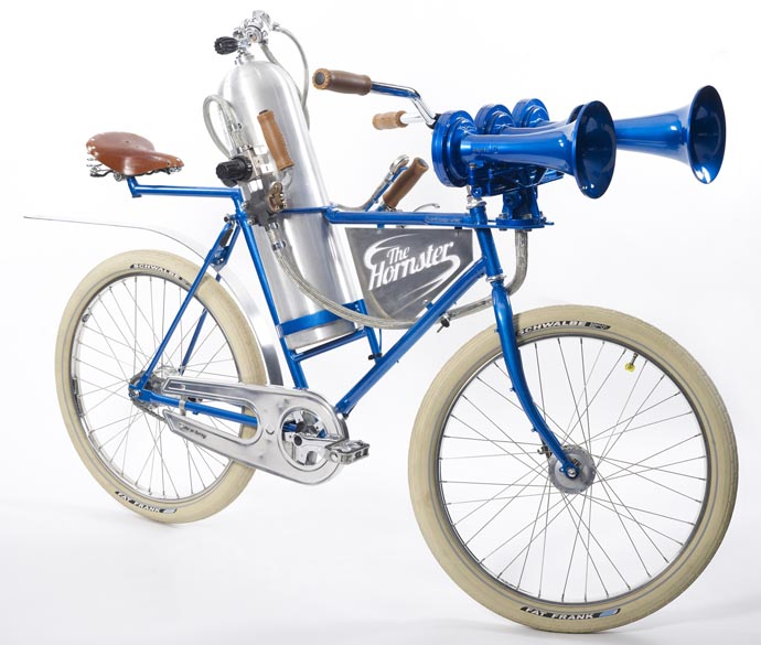 the hornster bicycle