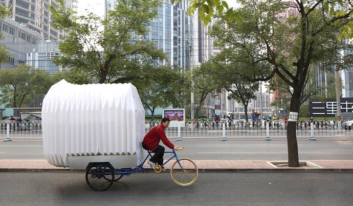 Bicycle RV tricycle house bicycle carvan