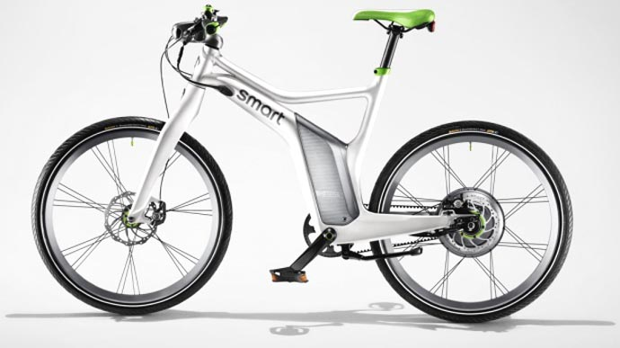 a smart electric bicycle. Black Bedroom Furniture Sets. Home Design Ideas