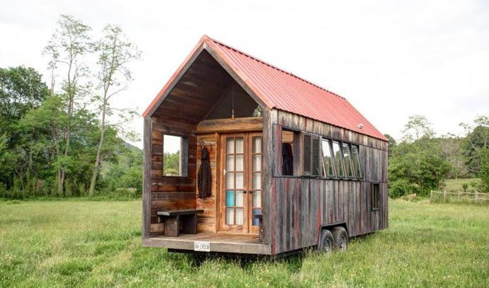 pocket house caravan