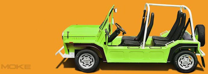 The Mini Moke Returns As An Electric Car