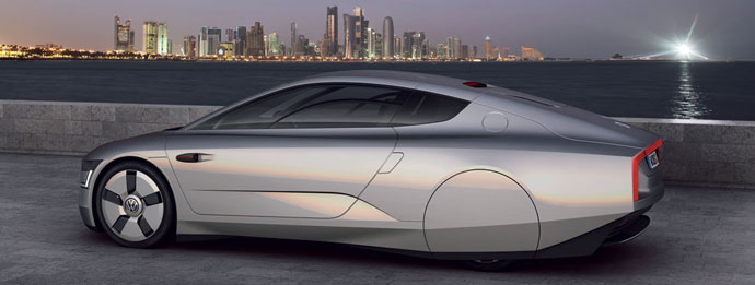 VW XL1 - eco dream car to cost £90,000