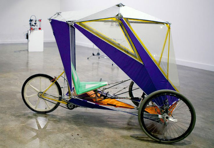 Fab Velo In The Rain A Diy Roof For Your Bicycle