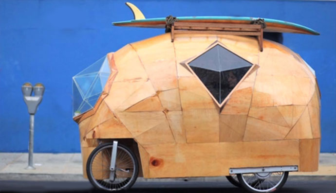 Golden Gate bicycle RV