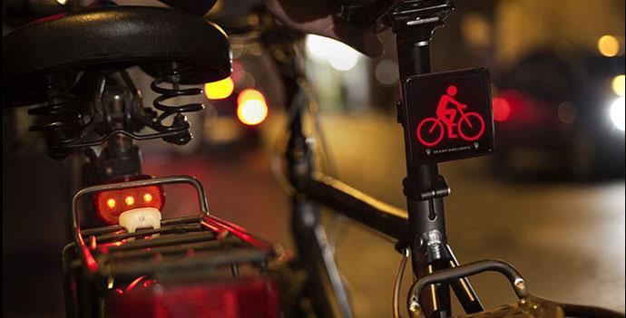 brainy bike rear light