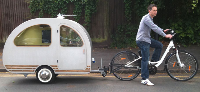 QTvan worlds smallest caravan trailer
