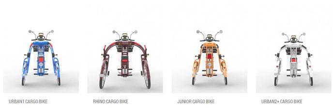 electric cargo trike rickshaw