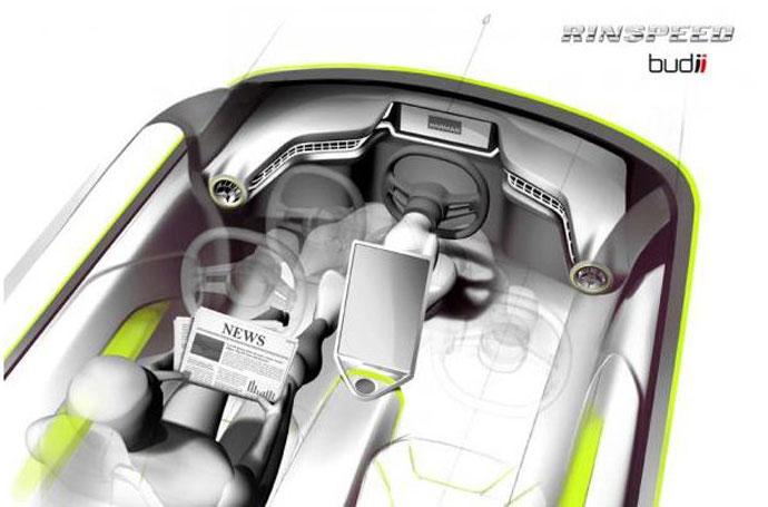 Rinspeed driverless cars