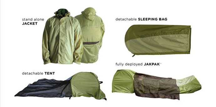 jakpak wearable tent