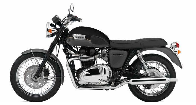 European motorcycle breakdown cover Triumph Bonneville T100
