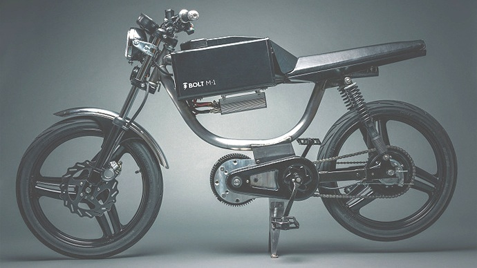 Bolt electric moped