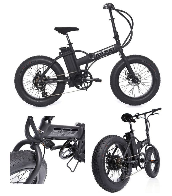 Fat Bad Electric Folding Bikes