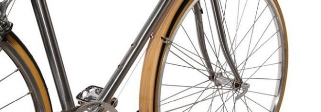 Bamboo bicycle mudguard