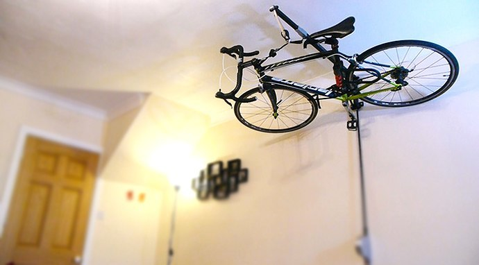 Stowaway Bicycle Hoist Instant New York Loft Makeover For