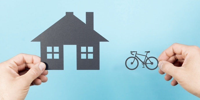 cycle insurance vs home insurance
