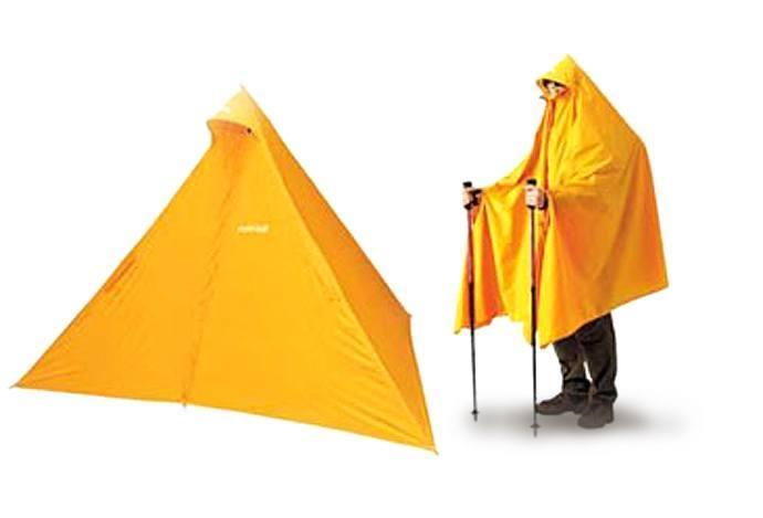 poncho tent