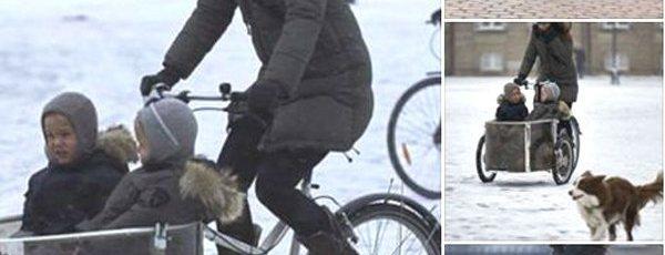 school run on cargo bikes