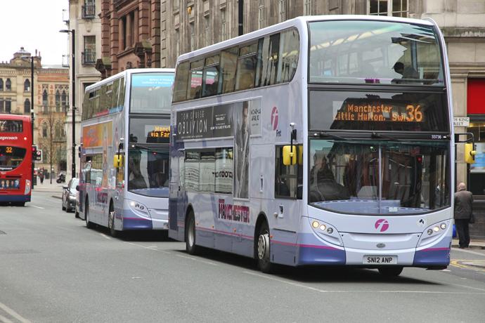 Cashless bus travel