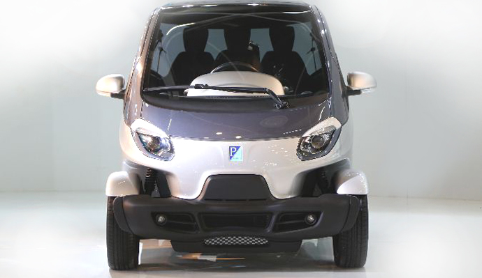 Piaggio NT3 city car