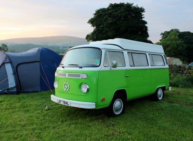 Groovy And Green Electric VW Camper For Hire