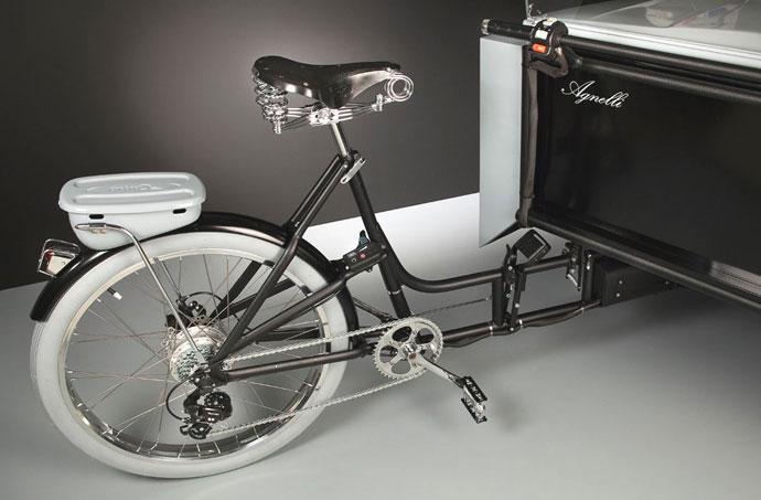 electric trike, 2CV, cargo bike