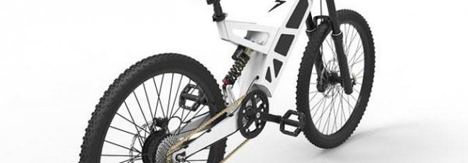 P7 stealth electric bicycle