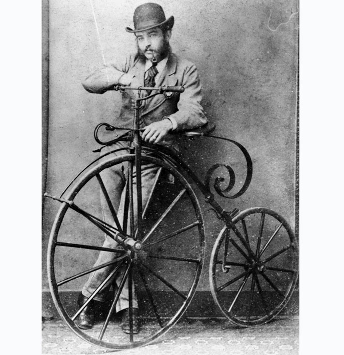 roads were not built for cars, penny farthing, ordinary