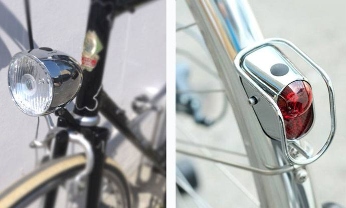 Say Goodbye To Winter With Vintage Bicycle Lights Eta