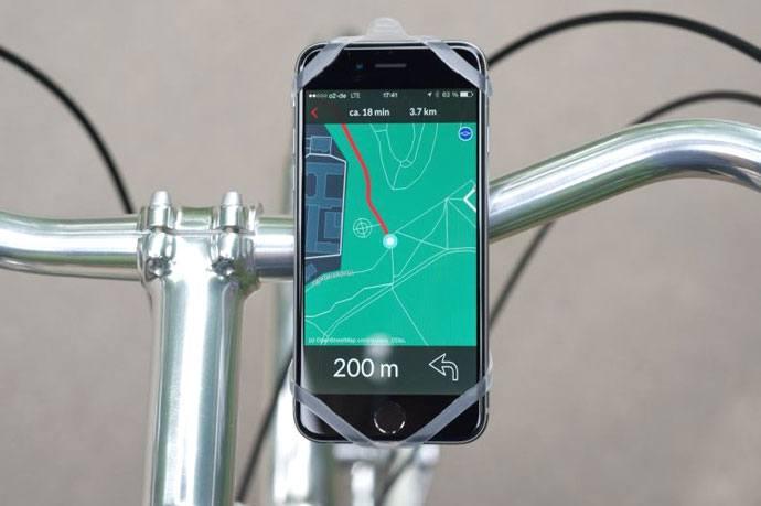 bicycle smartphone mount