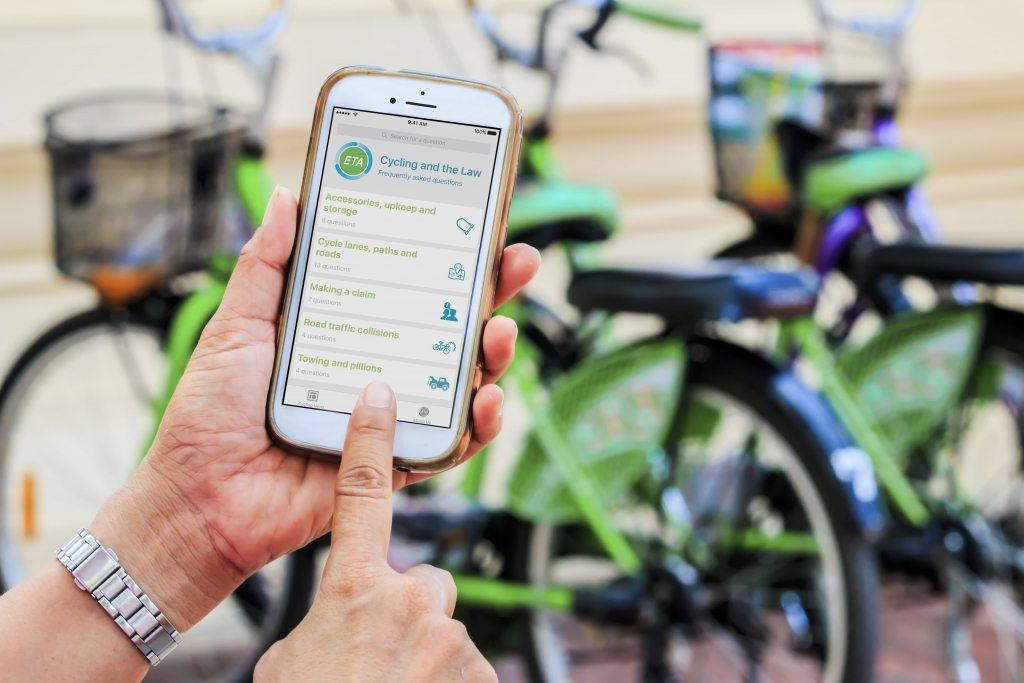 Cycling and the Law App