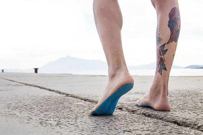 Nakefit foot sticker