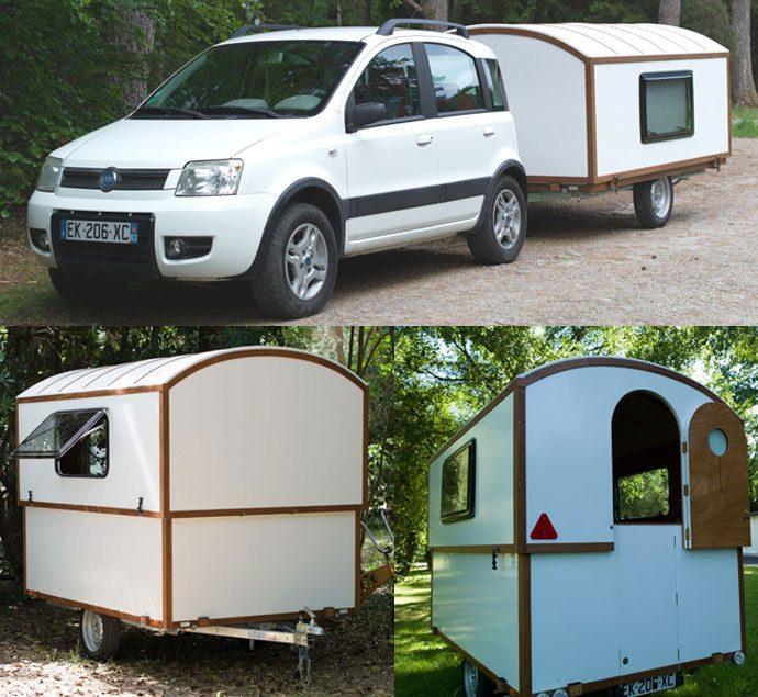 DIY caravan slidavan