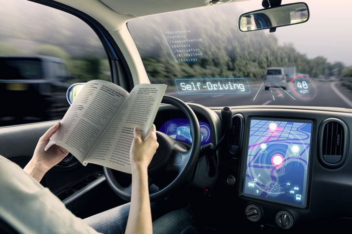 driverless cars as speed limiters