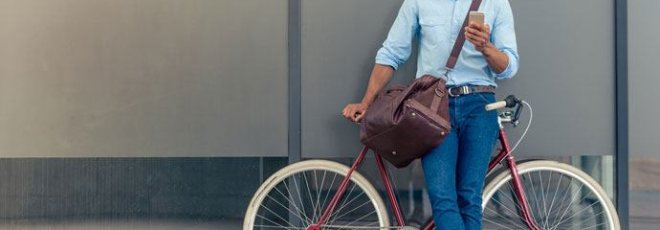 cyclists suffer less stress