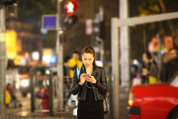 pedestrian smartphone distraction