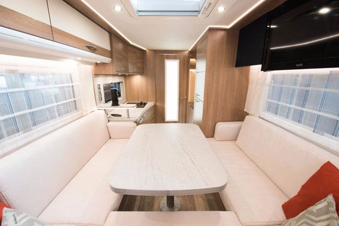 electric motorhome interior