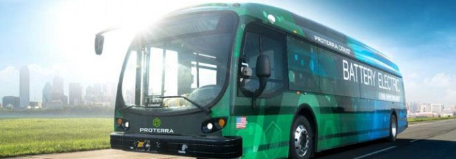 electric bus covers 1,100 miles