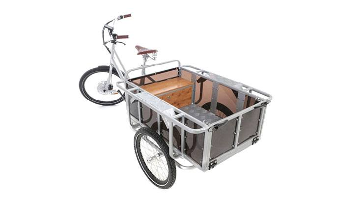 moveE electric cargo bicycle