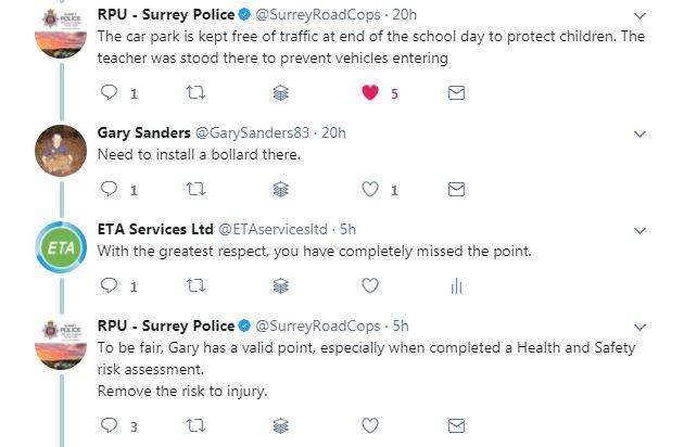 police comment