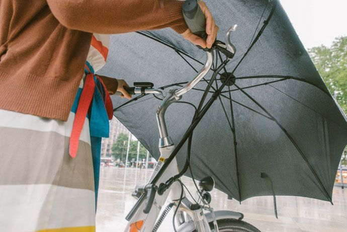 undercover bicycle umbrella