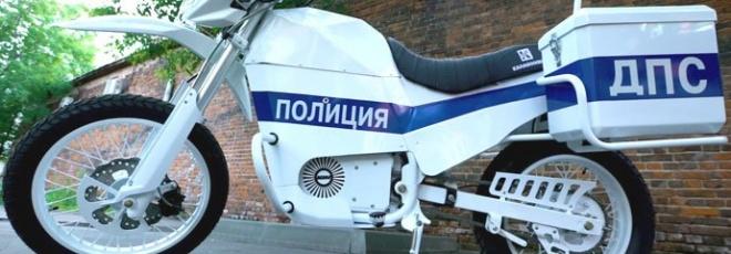 Kalashnikov electric motorbike