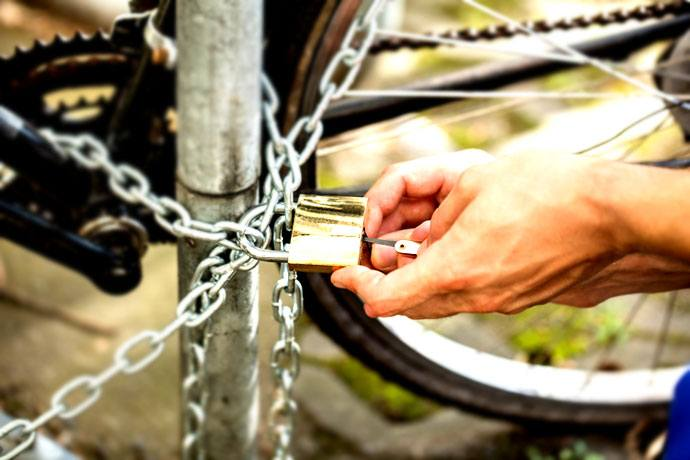 school threatens to impound bicycles
