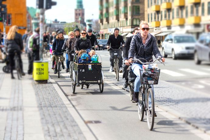 copenhagen commuters