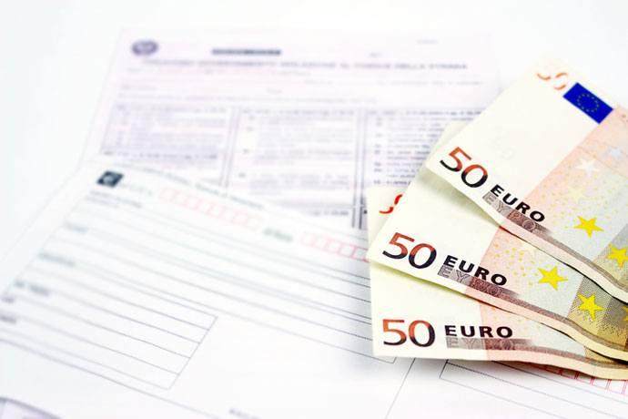 Euro speeding fine