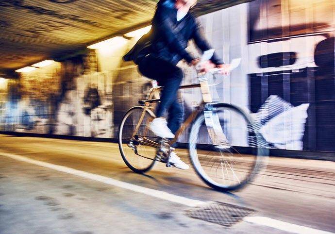 radicalised cyclist