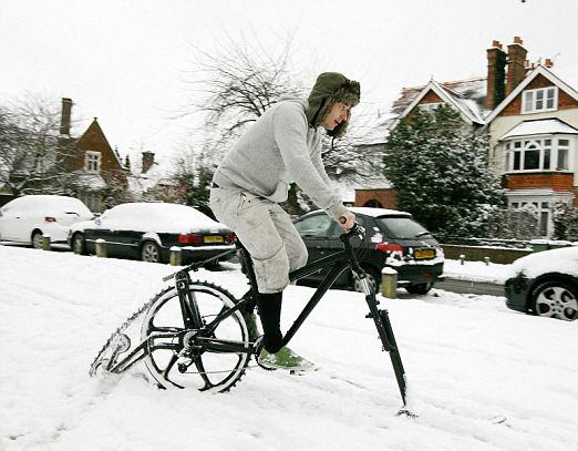Snow bike weybridge
