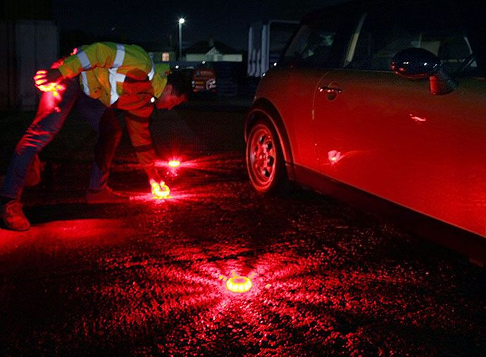 road flare for car breakdown